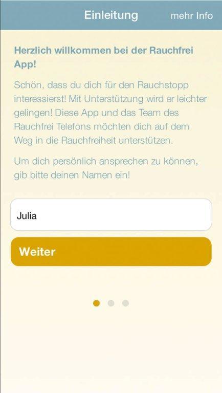 App Rauchfrei
